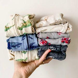 Lot of six pairs 12-18mos pyjamas